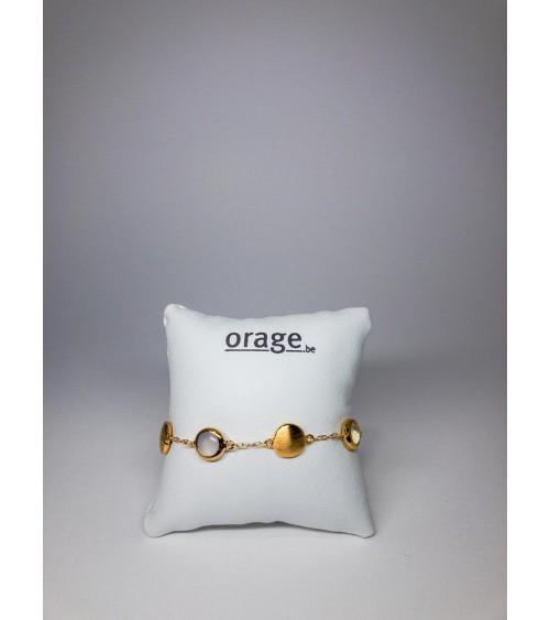 Bracelet plaqué or Orage pour femmes - Bijouterie Cécile
