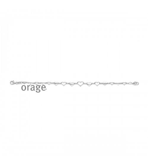 Bracelet argent - Orage - Collection Saint-Valentin